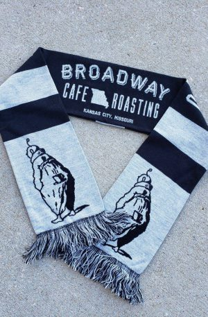 Authentic Broadway Sidewalk Supporter Scarf